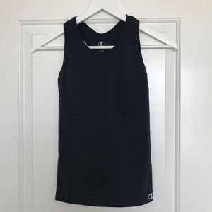 Champion dri-fit fitted tank with built-in bra